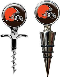 NFL Cleveland Browns Cork Screw & Bottle Topper