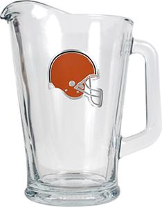 NFL Cleveland Browns 1/2 Gallon Glass Pitcher
