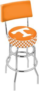 University of Tennessee Double-Ring Back Bar Stool