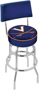University of Virginia Double-Ring Back Bar Stool