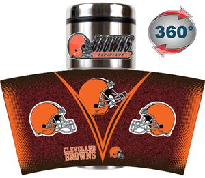 NFL Cleveland Browns Tumbler (Logo & Team Name)