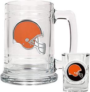 NFL Cleveland Browns Boilermaker Gift Set