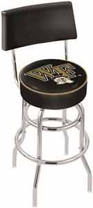 Wake Forest University Double-Ring Back Bar Stool