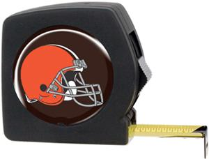 NFL Cleveland Browns 25' Tape Measure with Logo