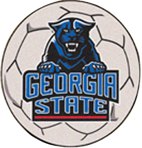 Fan Mats Georgia State University Soccer Ball