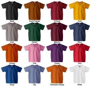 Gelscrubs Healthcare Classic Scrub Tops-16 Colors