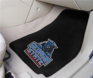 Fan Mats Georgia State University Carpet Car Mats