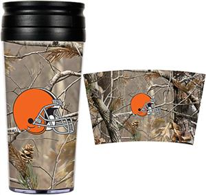 NFL Cleveland Browns 16oz Realtree Travel Tumbler