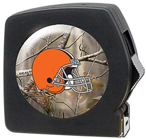 NFL Cleveland Browns 25' RealTree Tape Measure