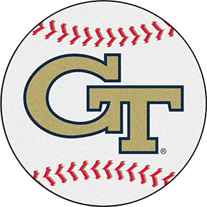 Fan Mats Georgia Tech Baseball Mat