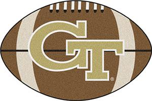Fan Mats Georgia Tech Football Mat