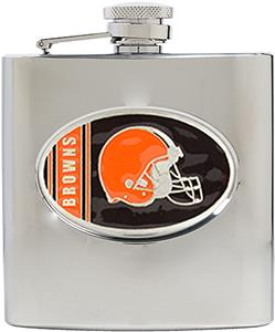 NFL Cleveland Browns 6oz Stainless Steel Flask