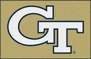 Fan Mats Georgia Tech Starter Mat