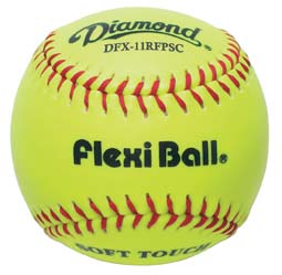 "Diamond DFX-11RFPSC Super Synthetic 11"" Softballs"