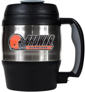 NFL Cleveland Browns 52oz Macho Travel Mug