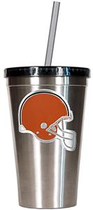 NFL Cleveland Browns 16oz Tumbler with Straw
