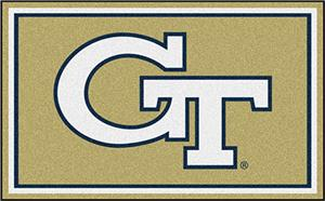 Fan Mats Georgia Tech 4x6 Rug