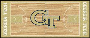 Fan Mats Georgia Tech Basketball Runner