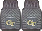Fan Mats Georgia Tech Vinyl Car Mats (set)