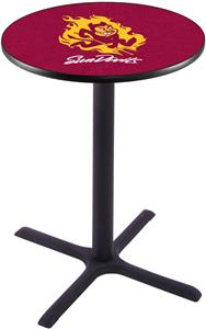 Arizona State University Pub Table X Style Base