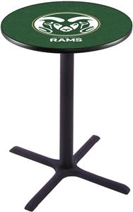Colorado State University Pub Table X Style Base