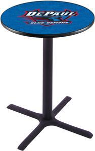DePaul University Pub Table X Style Base