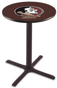 "Florida State ""Head"" Pub Table X Style Base"