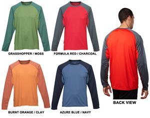 TRI MOUNTAIN Tomahawk Polyester Crewneck Shirt