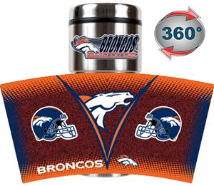 NFL Denver Broncos Tumbler (Logo & Team Name)