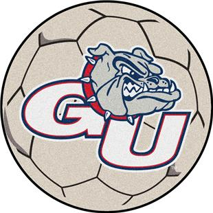 Fan Mats Gonzaga University Soccer Ball
