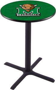 Marshall University Pub Table X Style Base