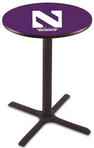 Northwestern University Pub Table X Style Base