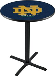 Notre Dame ND Pub Table X Style Base