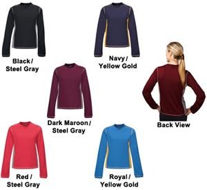 TRI MOUNTAIN Lady Sidewinder Mesh Crewneck Shirt