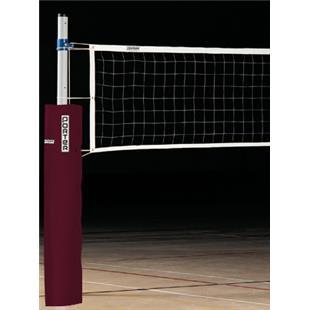 Porter Economy Steel Volleyball Standards w/ Pads