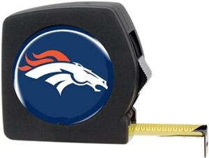 NFL Denver Broncos 25' Tape Measure with Logo