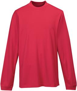 TRI MOUNTAIN Heron Polyester Mesh Mock Turtleneck