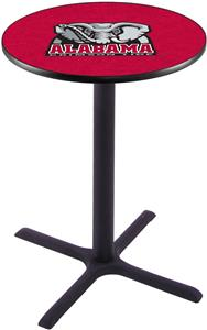 Univ of Alabama Elephant Pub Table X Style Base