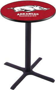 University of Arkansas Pub Table X Style Base
