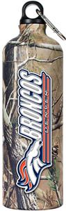 NFL Denver Broncos 32oz RealTree Water Bottle