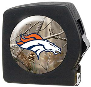 NFL Denver Broncos 25' RealTree Tape Measure