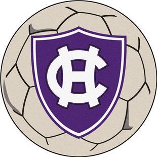 Fan Mats Holy Cross Soccer Ball