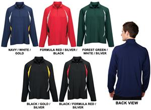 TRI MOUNTAIN Condor Quarter Zip Pullover Shirt