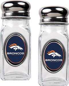 NFL Denver Broncos Salt and Pepper Shaker Set