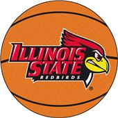 Fan Mats Illinois State University Basketball Mat
