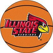 Fan Mats Illinois State University Basketball Mat