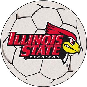Fan Mats Illinois State University Soccer Ball Mat