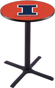 University of Illinois Pub Table X Style Base