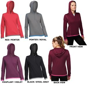 TRI MOUNTAIN Lady Phantom Pullover Hooded Shirt