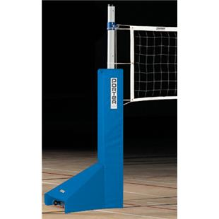 Porter Economy Steel Volleyball End Standards-Pads